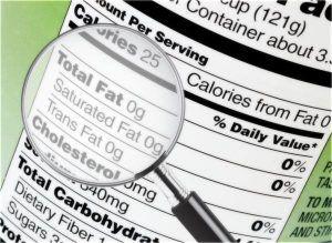La guía para leer etiquetas nutricionales
