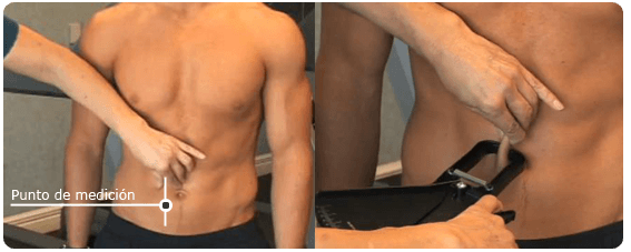 abdomen (plicometro)
