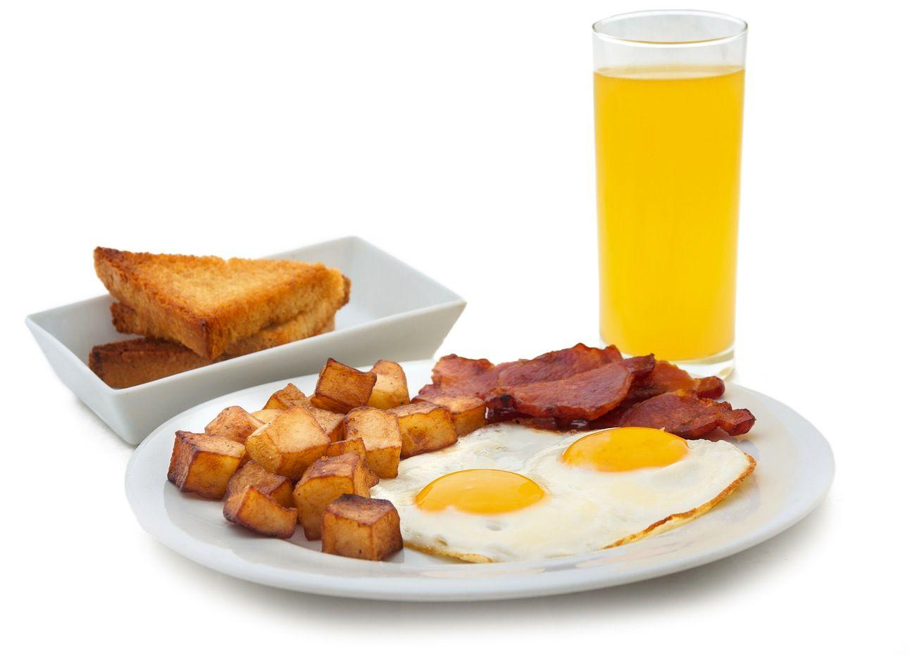 desayuno y desayunar