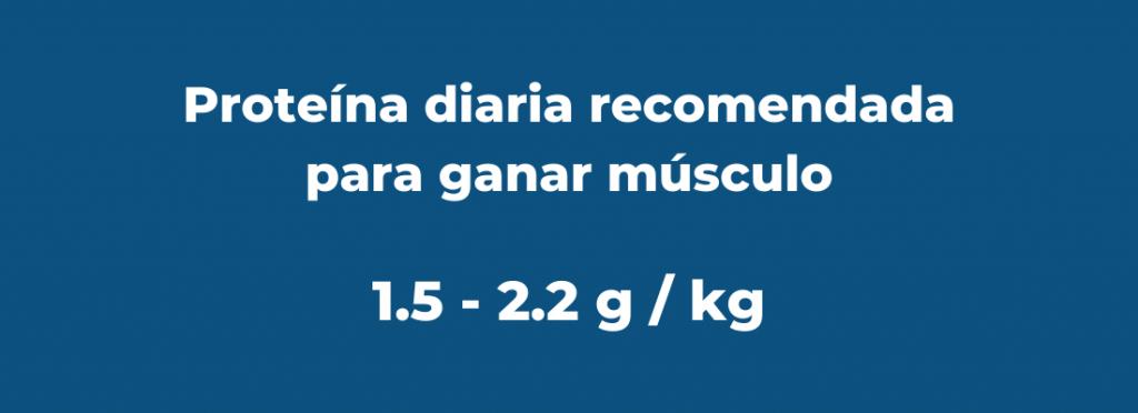 proteína para ganar músculo