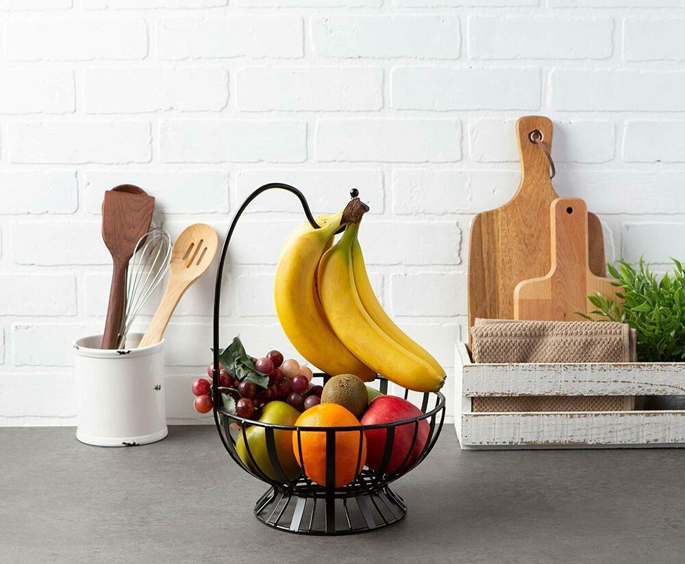 tazón de fruta en la cocina