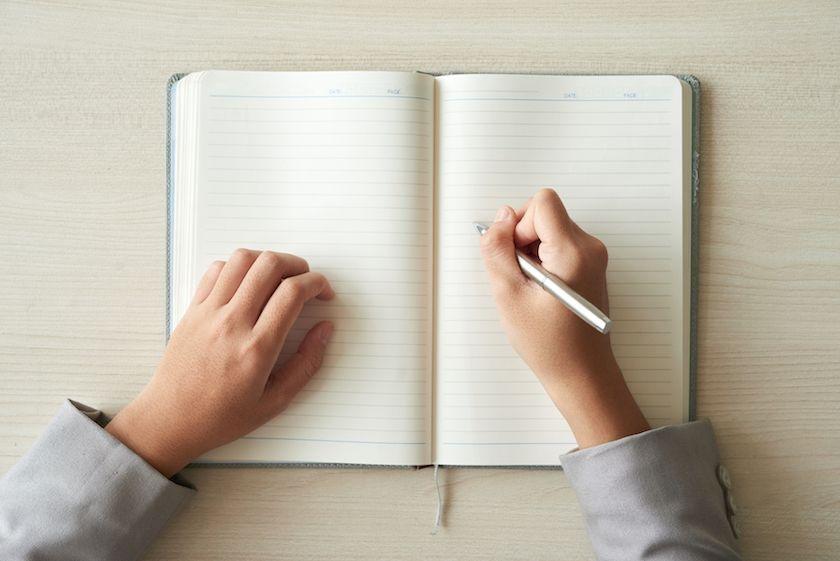 escribir en diario