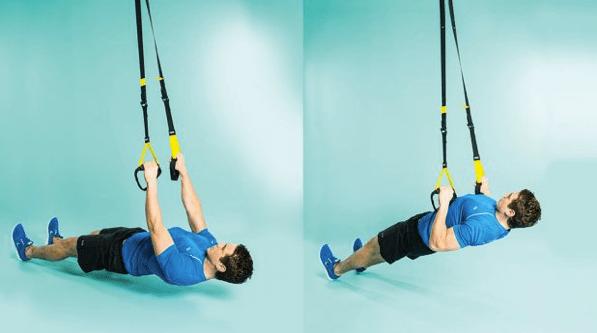 TRX para entrenar en casa