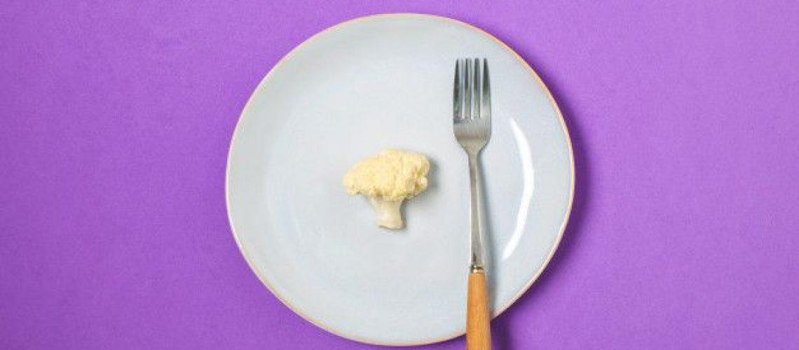 comer menos calorías para quemar grasa